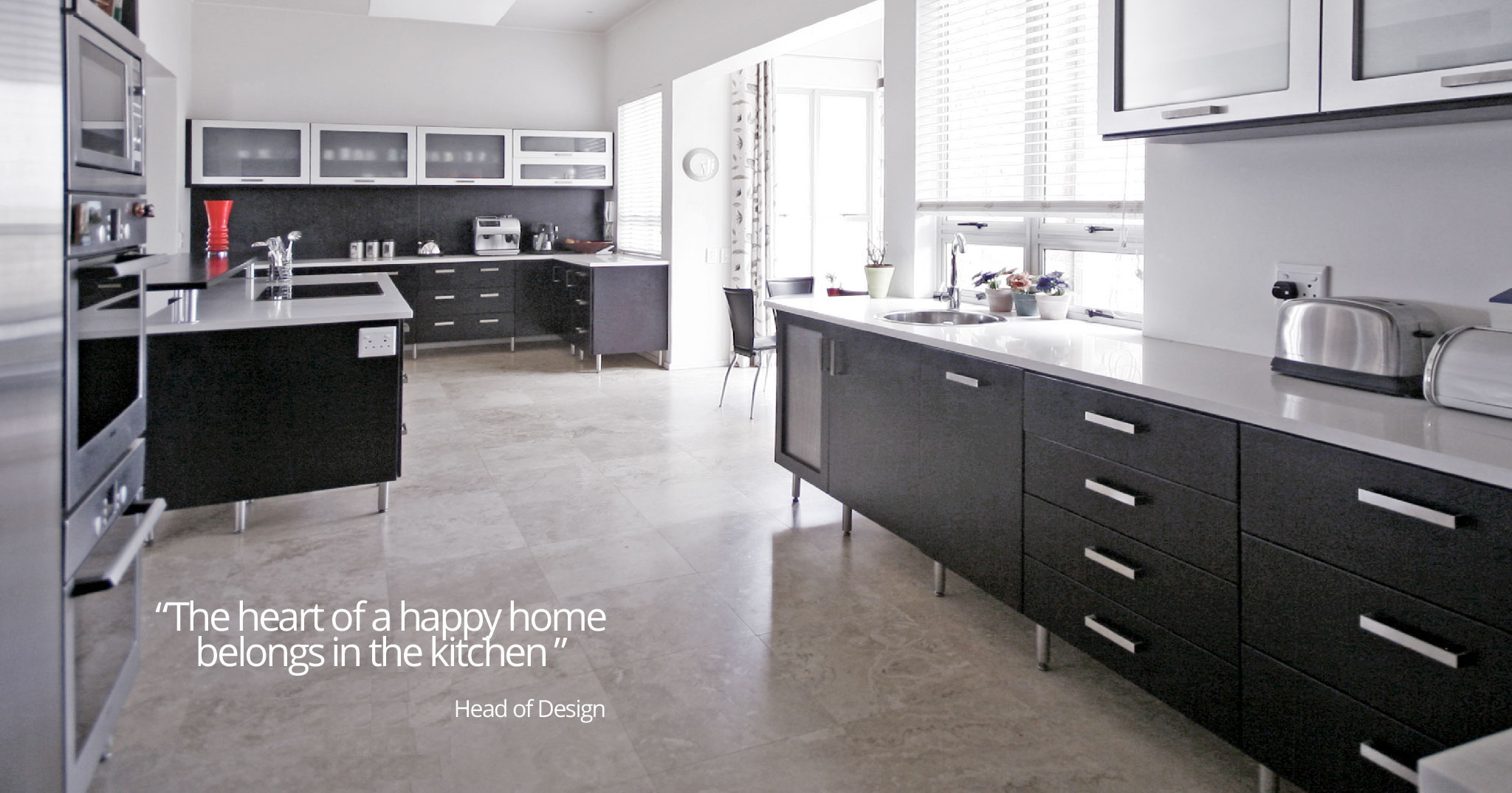 M R Quality Kitchens Home Page